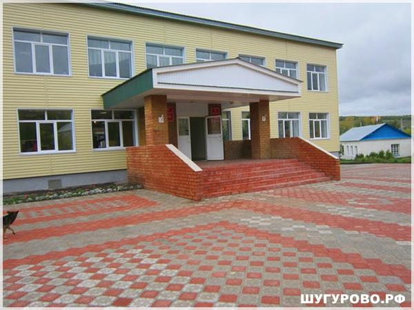 Шугурово. Татарская школа.