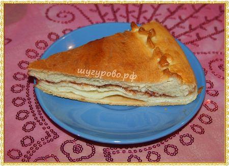 Катлы паштет (слоеный пирог)