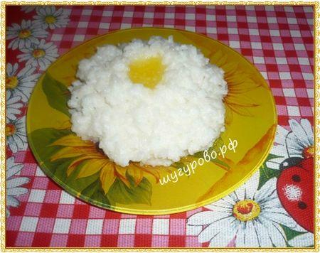 Доге боткасы (рисовая каша)