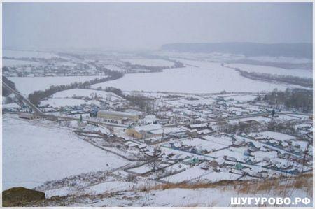 Шугурово зимой