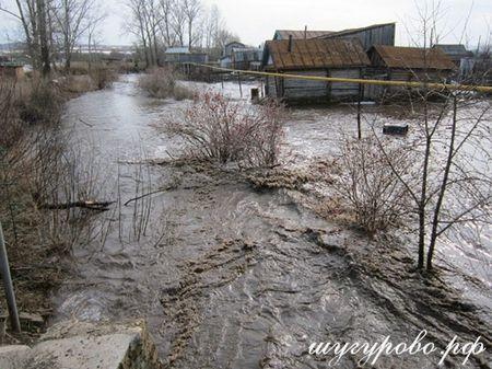 Весна в деревне Шугурово