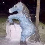 Фигуры из снега от Реваля Газизова