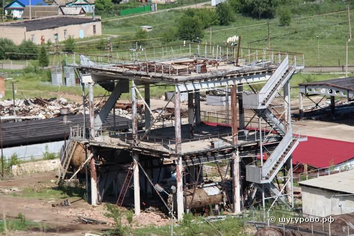 Нефтебитумный завод в Шугурово