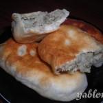 Татарские пирожки с печенью «Балачак»